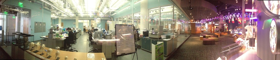 Genomics Lab Panorama