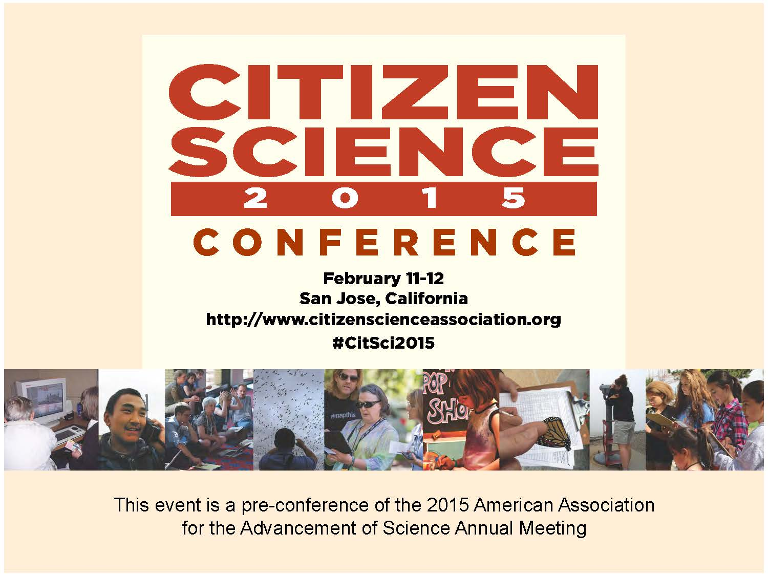 Citizen Science 2015 flyer